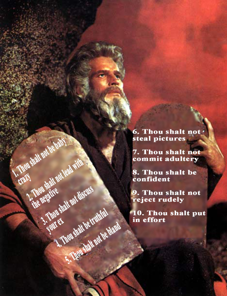 Charlton-Heston-Moses-10-commandments Online Dating